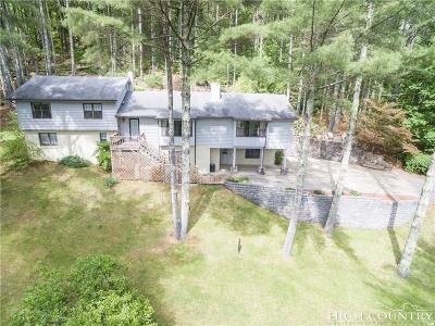 Banner Elk Single Family Home For Sale: 281 Old Hartley Road