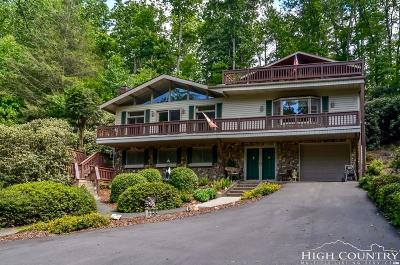 Ashe County Single Family Home For Sale: 258 Cranberry Lane
