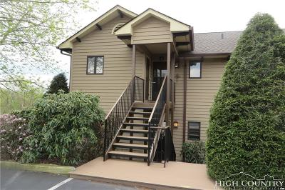 Blowing Rock Condo/Townhouse For Sale: 264 Evergreen Drive #1