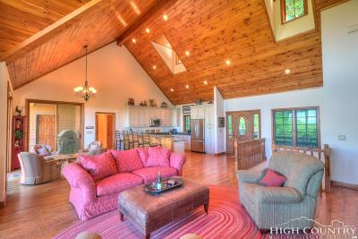 Alexander County, Ashe County, Avery County, Burke County, Caldwell County, Watauga County Single Family Home For Sale: 143 E Blueberry Lane