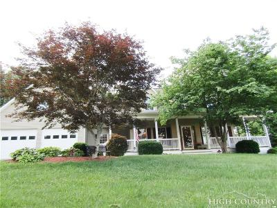 Ashe County Single Family Home For Sale: 170 Edgewood Drive