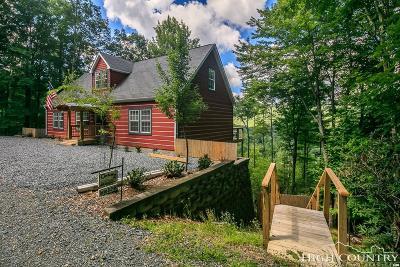 Beech Mountain Single Family Home For Sale: 265 Poplar Drive