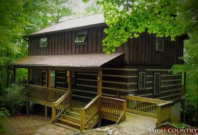 Ashe County Single Family Home For Sale: 208 Heritage Oaks