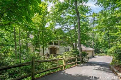 Blowing Rock Single Family Home For Sale: 485 New River Lake Drive
