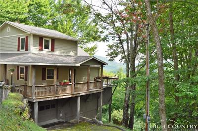 Beech Mountain Single Family Home For Sale: 100 Pond View Lane