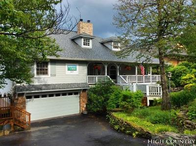 Beech Mountain Single Family Home For Sale: 317 N. Pinnacle Ridge Road