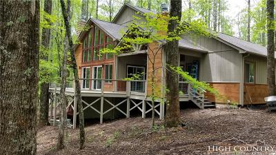 Boone Single Family Home For Sale: Tbd Mountain Forest Road