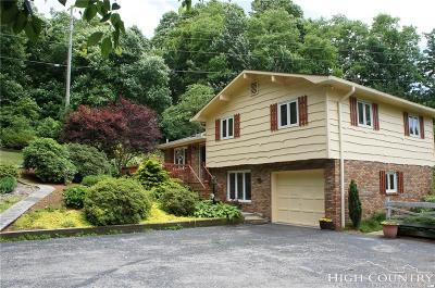 Watauga County Single Family Home For Sale: 2084 Deck Hill Road
