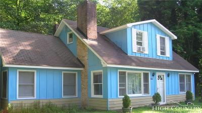 Blowing Rock Single Family Home For Sale: 181 Logan Lane
