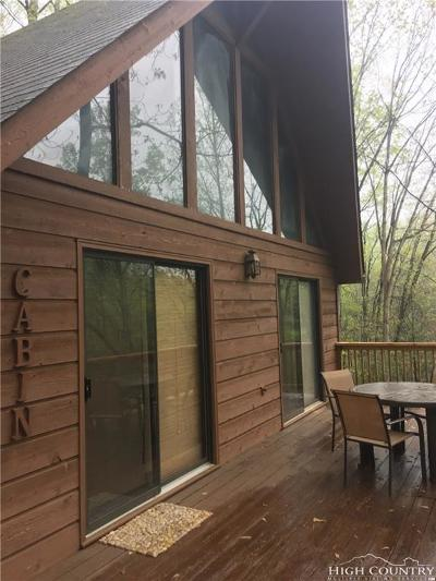 Deep Gap Single Family Home For Sale: 181 Quickstop Trail