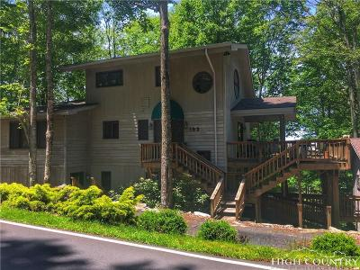 Beech Mountain Single Family Home For Sale: 103 Clubhouse Road