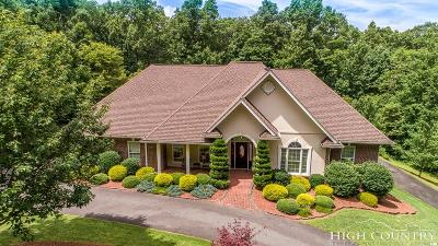 Ashe County Single Family Home For Sale: 174 Hillside Lane