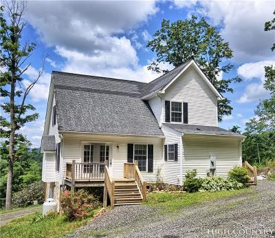 Ashe County Single Family Home For Sale: 807 Bare Creek Road