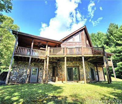 West Jefferson Single Family Home Under Contract - Show: 156 Rivers Edge Access Road