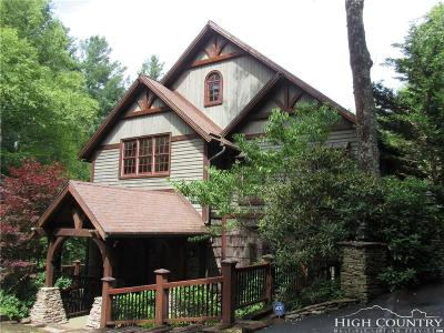 Watauga County Single Family Home For Sale: 172 Foxwood Lane
