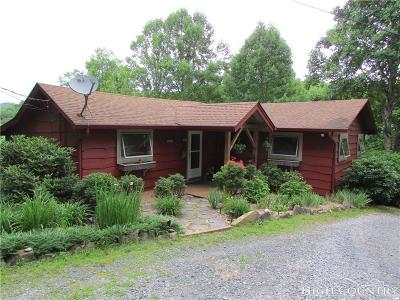 Blowing Rock Single Family Home For Sale: 190 Rustic Ridge