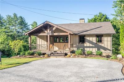 Blowing Rock Single Family Home For Sale: 215 Green Street