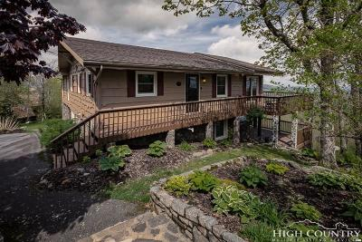 Watauga County Single Family Home For Sale: 686 Golden Ridge Road