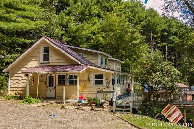 Ashe County Single Family Home For Sale: 371 Harold Dancy Drive
