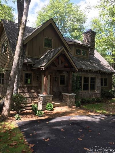 Blowing Rock Single Family Home For Sale: C-6 Timberwalk Drive