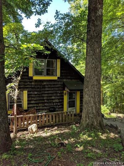 Watauga County Single Family Home For Sale: 132 Sassafras Lane