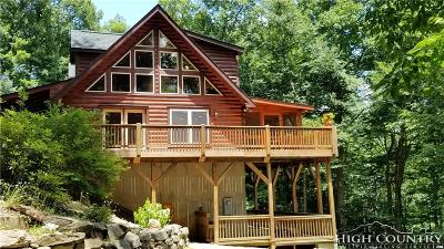Avery County Single Family Home For Sale: 5358 Nc Highway 105