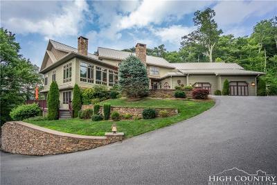 Blowing Rock Single Family Home For Sale: 221 Kestrel Drive