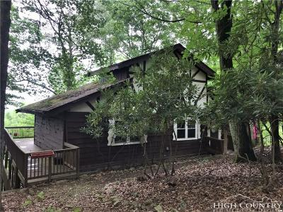 Beech Mountain Single Family Home For Sale: 722 Pine Ridge Road