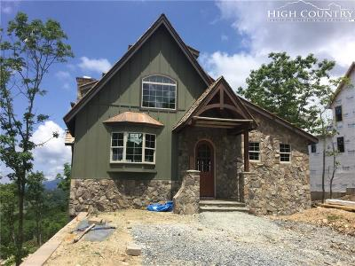 Boone Single Family Home For Sale: Lot 8 State View Road