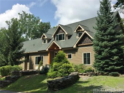 Watauga County Single Family Home For Sale: 939 Lost Ridge Trail
