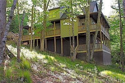 Beech Mountain Single Family Home For Sale: 117 Slopeside Road