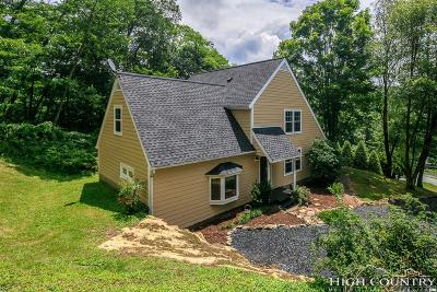 Avery County Single Family Home For Sale: 180 Hillside Road