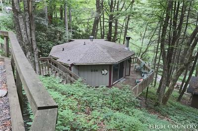 Watauga County Single Family Home For Sale: 395 N Hemlock Road