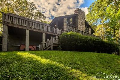 Avery County Single Family Home For Sale: 700 Tyneloch Drive