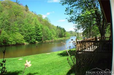 Ashe County Single Family Home For Sale: 4184 Nc Hwy 16