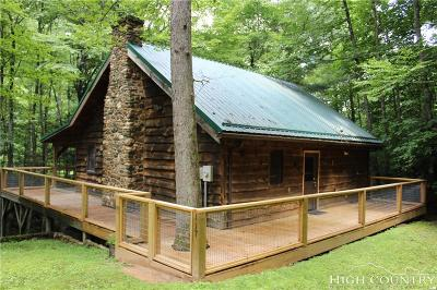 Ashe County Single Family Home Under Contract - Show: 117 Turkey Run Road