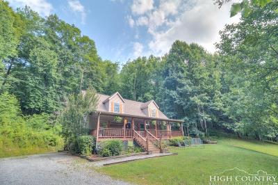 Avery County Single Family Home For Sale: 428 Phillip Road
