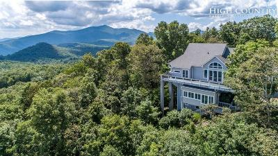 Watauga County Single Family Home For Sale: 156 Ridgetop Drive