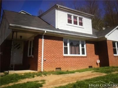 Ashe County Single Family Home For Sale: 190 B Street