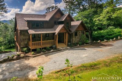 Banner Elk Single Family Home For Sale: 316 Pigeon Roost Road