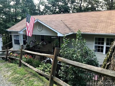 Boone NC Single Family Home For Sale: $160,000