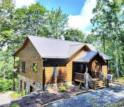 Ashe County Single Family Home For Sale: 291 Salamander Creek Road