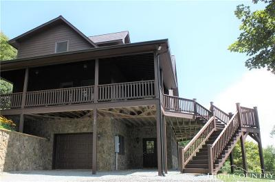 Ashe County Single Family Home For Sale: 706 Pinnacle Drive