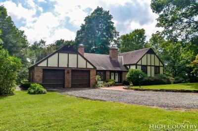 Boone Single Family Home For Sale: 392 Hickory Heights Drive