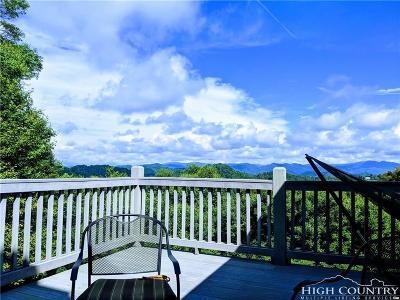 Watauga County Single Family Home For Sale: 300 Shuck Pen Ridge Road
