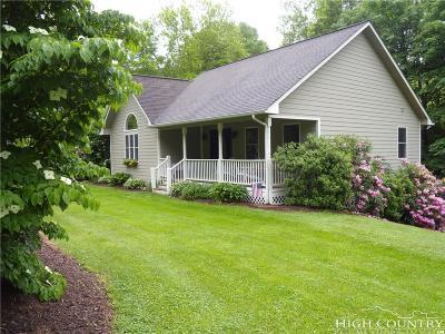 Watauga County Single Family Home For Sale: 102 Woodbriar Lane
