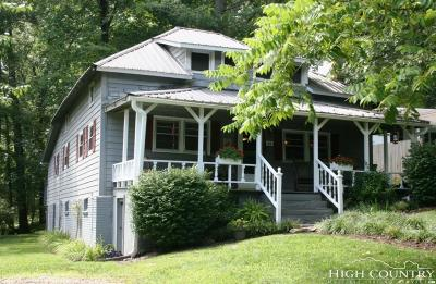 Avery County Single Family Home For Sale: 16 Luther Franklin Lane