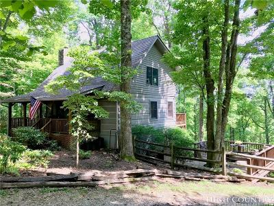 Blowing Rock Single Family Home Under Contract - Show: 409 Oakwood Drive