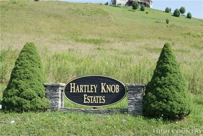 Avery County, Watauga County Residential Lots & Land For Sale: Tbd Hartley Knob Road