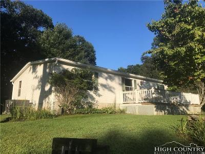 Watauga County Single Family Home For Sale: 643 Courtney Lane